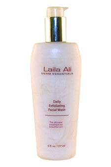 Daily Exfoliating Facial Wash by Laila Ali 6 oz  Facial Wash for Unisex