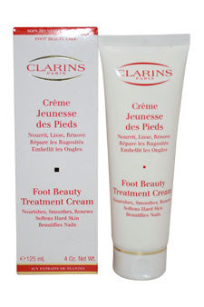 Foot Beauty Treatment Cream by Clarins 4 oz  Cream for Unisex