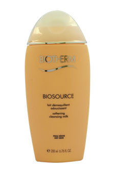 Biosource Softening Cleansing Milk For Dry Skin by Biotherm 6.76 oz  Cleansing Milk for Unisex
