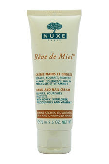Reve de Miel - Hand and Nail Cream by Nuxe 2.5 oz  Cream for Unisex