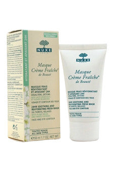 Masque Creme Fraiche de Beaute - 24HR Soothing And Rehydrating Fresh Mask by Nuxe 1.7 oz  Mask for Unisex