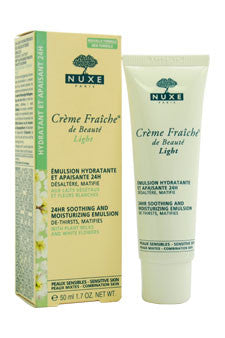 Creme Fraiche de Beaute Light - 24HR Soothing And Moisturizing Emulsion by Nuxe 1.7 oz  Emulsion for Unisex