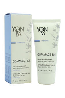 Gommage 305 Exfoliating Clarifying Gel by Yonka 1.8 oz  Gel for Unisex