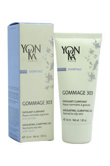Gommage 303 Exfoliating Clarifying Gel by Yonka 1.8 oz  Gel for Unisex