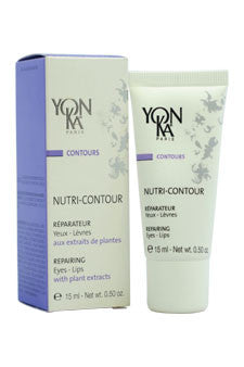 Nutri-Contour Repairing Eyes & Lips Creme by Yonka 0.5 oz  Creme for Unisex