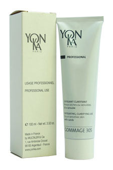Gommage 305 Exfoliating Clarifying Gel by Yonka 3.52 oz  Gel for Unisex