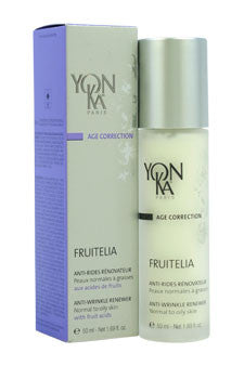 Age Correction Fruitelia PNG Anti-Wrinkle Renewer - Normal to Oily Skin by Yonka 1.69 oz  Emulsion for Unisex