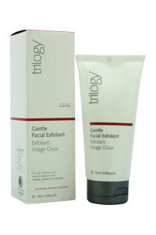Gentle Facial Exfoliant by Trilogy 2.5 oz  Exfoliant for Unisex