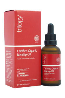 Certified Organic Rosehip Oil by Trilogy 1.5 oz  Oil for Unisex