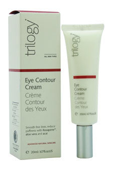Eye Contour Cream by Trilogy 0.67 oz  Cream for Unisex