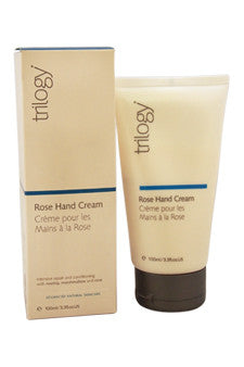 Rose Hand Cream by Trilogy 3.3 oz  Cream for Unisex