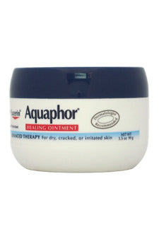 Aquaphor Healing Ointment For Dry Cracked or Irritated Skin by Eucerin 3.5 oz  Skin Protectant for Unisex