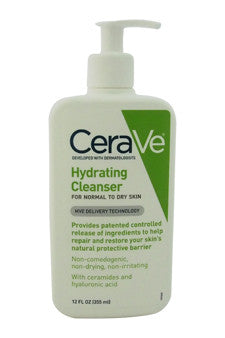 Hydrating Cleanser - Normal To Dry Skin by CeraVe 12 oz  Cleanser for Unisex