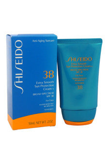 Extra Smooth Sun Protection Cream N Broad Spectrum SPF 38 For Face by Shiseido 2 oz  Sunscreen for Unisex