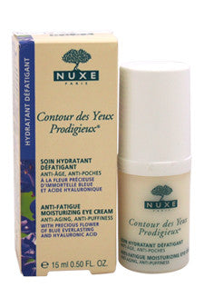 Contour des Yeux Prodigieux Anti-Fatigue Moisturizing Eye Cream by Nuxe 0.5 oz  Cream for Unisex
