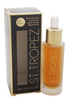 Self Tan Luxe Dry Facial Oil by St. Tropez 1 oz  Tanner for Unisex