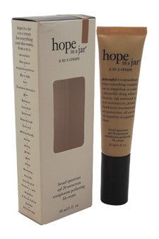 Hope In a Jar A to Z Cream Broad Spectrum SPF20 by Philosophy 1 oz  Sunscreen for Unisex