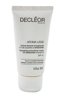 Aroma Lisse Energising Smoothing Cream SPF 15 by Decleor 1.6 oz  Cream for Unisex