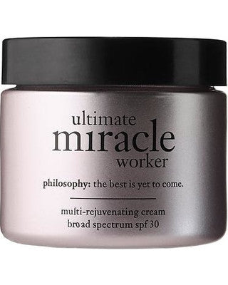Ultimate Miracle Worker Multi-Rejuvenating Cream SPF 25 by Philosophy 2 oz  Cream for Unisex