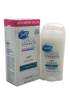 Secret Clinical Strength Smooth Solid Womens Antiperspirant and Deodorant by Secret 2.6 oz  Deodorant Stick for Women