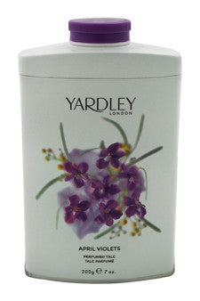 April Violets by Yardley London 7 oz  Perfumed Talc for Women