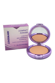 Compact Powder Waterproof - # 2 - Dry Sensitive Skin by Covermark 0.35 oz  Powder for Women