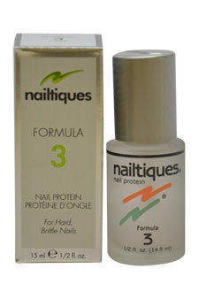 Nail Protein Formula # 3 by Nailtiques 0.5 oz  Manicure for Women