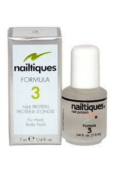Nail Protein Formula # 3 by Nailtiques 0.25 oz  Manicure for Women