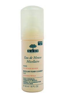 Eau de Mousse Micellaire - Micellar Foam Cleanser by Nuxe 1.6 oz  Foam Cleanser for Women