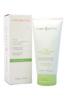 Acne Daily Clarifying Cleanser - Acne Prone Skin by Clarisonic 6 oz  Cleanser for Women