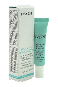 Hydra 24+ Regard Glacon Moisturising Reviving Eyes Roll-On by Payot 0.5 oz  Treatment for Women