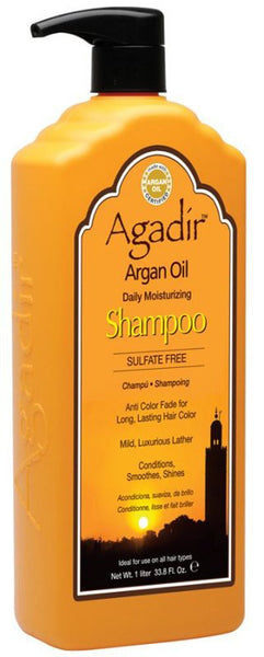 Agadir Argan Oil Daily Moisturizing Shampoo, 33.8 Ounce