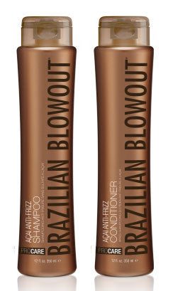 Brazilian Blowout Acai Anti-Frizz Shampoo and Conditioner 12oz Duo - BEAUTY IT IS