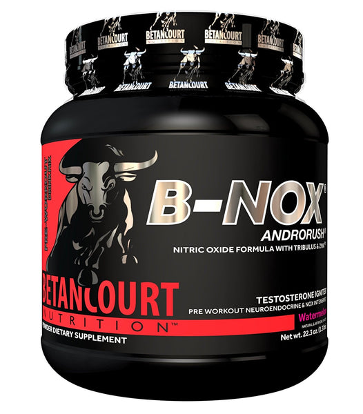 Betancourt Nutrition - B-Nox Pre Workout Drink Mix, Watermelon 35 servings, 22.3 oz