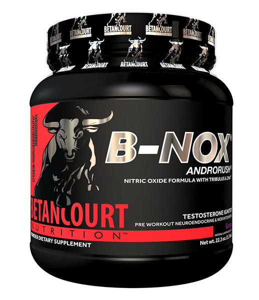 Betancourt Nutrition - B-Nox Pre Workout Drink Mix, Grape 35 servings