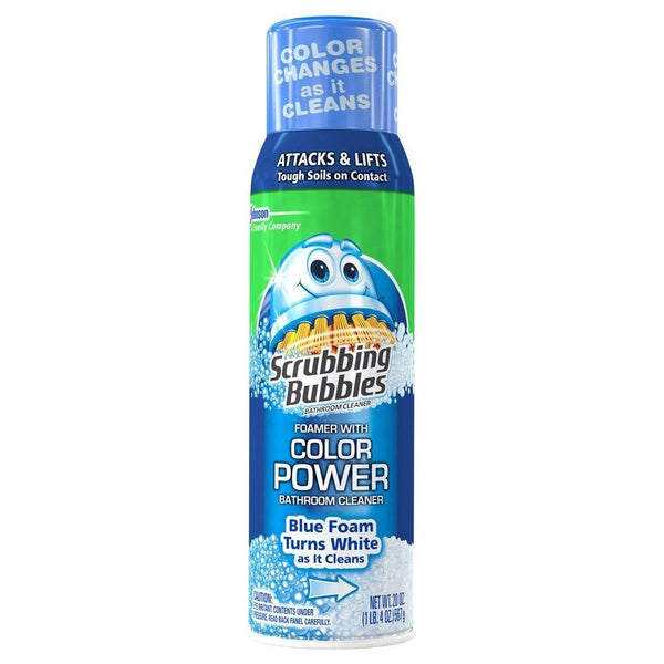 Scrubbing Bubbles Bathroom Cleaner with Color Power Technology 20 oz