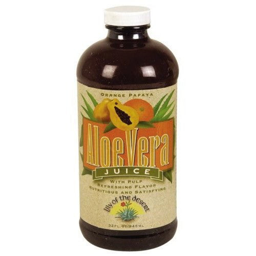 Aloe Vera Juice Orange/Papaya 32 Oz By Lily Of The Desert