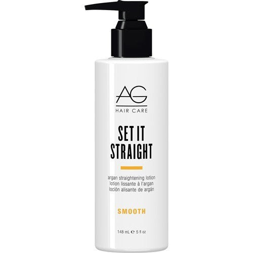 AG Hair Set It Straight Argan Straightening Lotion, 5 fl oz
