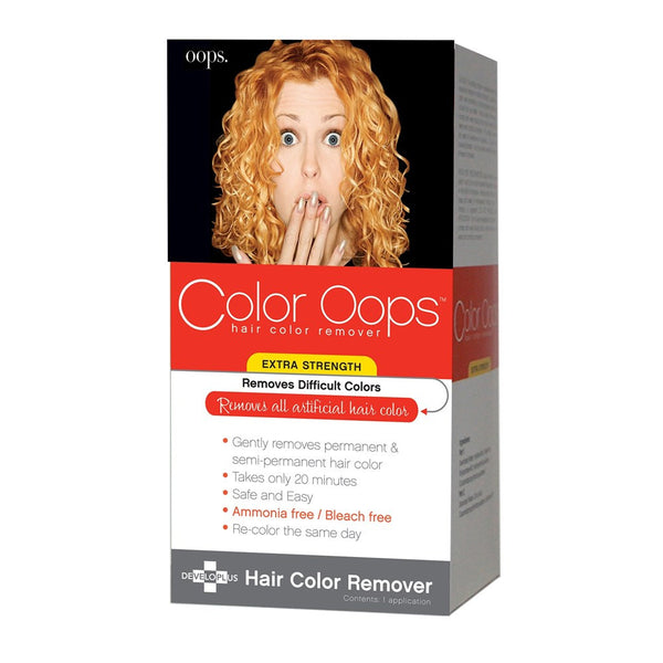 Color Oops Hair Color Remover, Extra Strength 1 Application