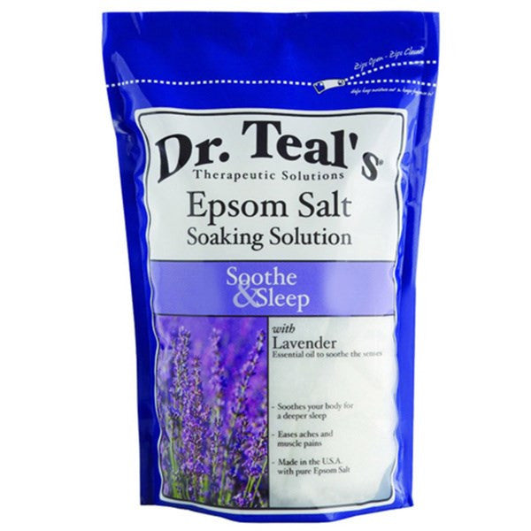 Dr. Teals Lavender Epsom Salt - Soothe and Sleep - 3lbs - BEAUTY IT IS