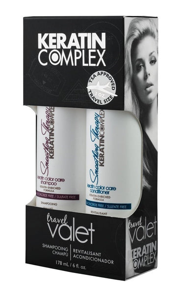 Keratin Complex Travel Valet Color Care Kit 2 Pc Kit 3 oz