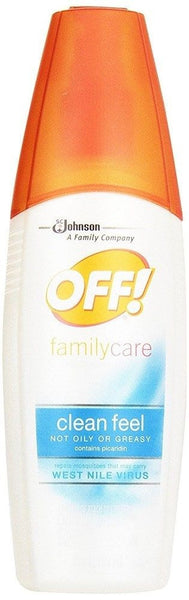 OFF! FamilyCare Insect Repellent II Clean Feel 6 Fluid Ounces