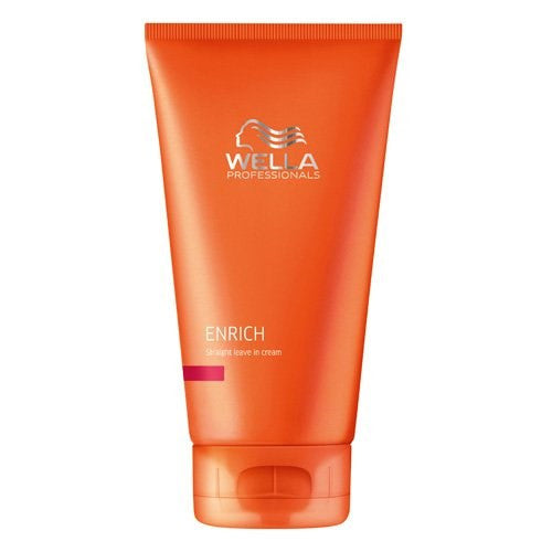 Wella Enrich Straight Leave In Cream, 5.07 Ounce