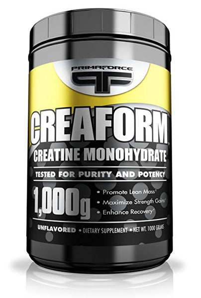 Primaforce Creatine Monohydrate Powder, Unflavored 1000 Gram, 1000 Gram
