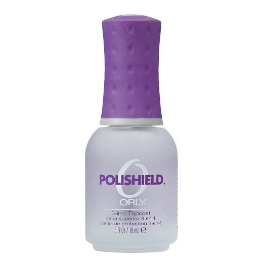 Orly – Polishield 3-in-1 Topcoat, 0.3 oz