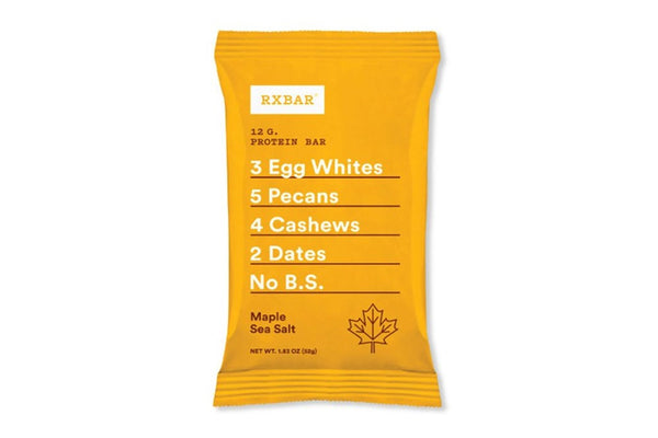 RXBAR Protein Bar, Maple Sea Salt, 1.83 oz
