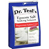 Dr Teal's Epsom Salt Soaking Solution Magnesium Sulfate U.S.P. 6 lb Bag, 2.72kg