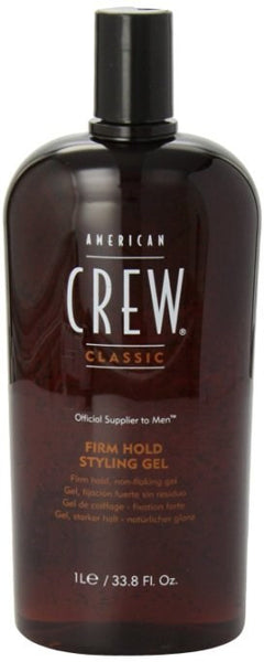 American Crew Firm Hold Styling Gel, 33.8 oz - BEAUTY IT IS