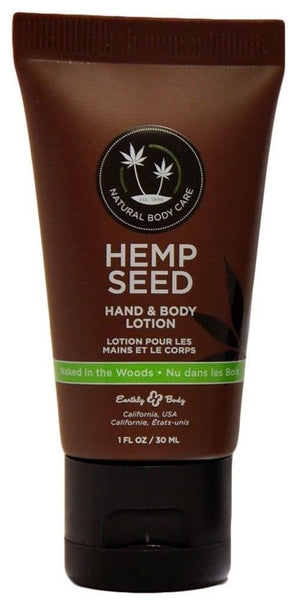 Earthly Body Hemp Seed Hand & Body Lotion Naked In the Woods 1 oz
