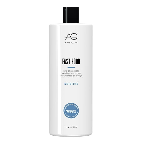 AG Hair Fast Food Leave On Conditioner,  33.8 Fluid Ounce, 1 L./33.8 oz